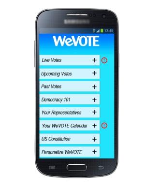 WeVote_Menu Screen_Alerts